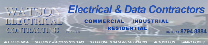 Watson Electrical Amp Data Contractors Security Systems